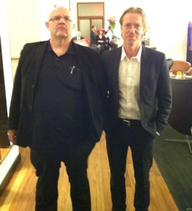 The Swedish writing team of Anders Roslund and Borge Hellstrom